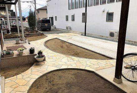 冬も終わり、ガーデン&エクステリア工事も本格的に始動です!