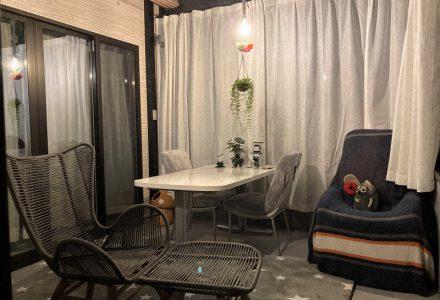 ガーデンルームのある暮らし。