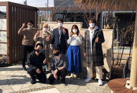丸山桂里奈さんと本並健治さん夫妻が取材に来ました!